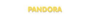 Der Vorname Pandora
