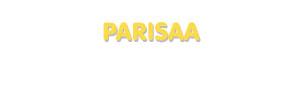 Der Vorname Parisaa