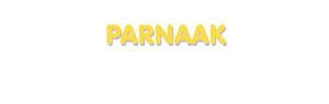 Der Vorname Parnaak