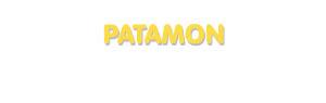 Der Vorname Patamon