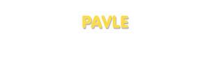 Der Vorname Pavle