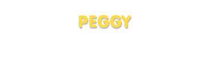 Der Vorname Peggy