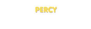 Der Vorname Percy