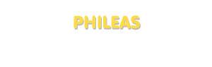 Der Vorname Phileas