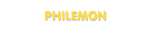 Der Vorname Philemon