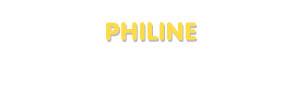 Der Vorname Philine