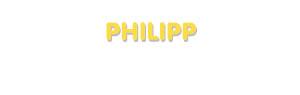 Der Vorname Philipp