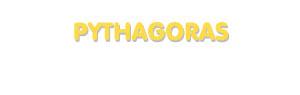 Der Vorname Pythagoras