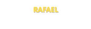 Der Vorname Rafael