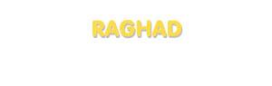 Der Vorname Raghad