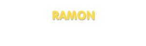 Der Vorname Ramon