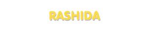 Der Vorname Rashida