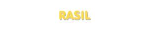 Der Vorname Rasil