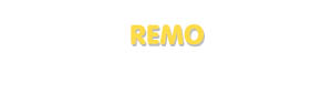 Der Vorname Remo