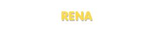 Der Vorname Rena