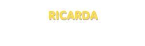 Der Vorname Ricarda