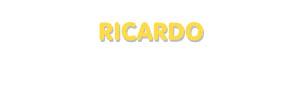 Der Vorname Ricardo