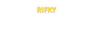 Der Vorname Rifky