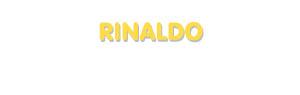 Der Vorname Rinaldo