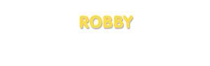 Der Vorname Robby