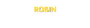 Der Vorname Robin