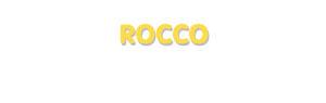 Der Vorname Rocco