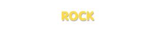 Der Vorname Rock