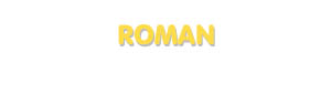 Der Vorname Roman