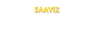Der Vorname Saaviz