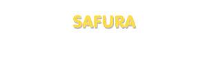 Der Vorname Safura
