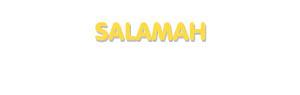 Der Vorname Salamah