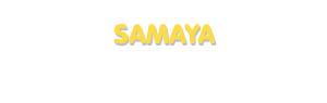 Der Vorname Samaya