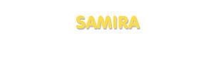 Der Vorname Samira