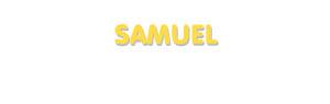 Der Vorname Samuel