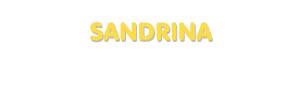 Der Vorname Sandrina