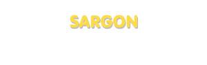 Der Vorname Sargon