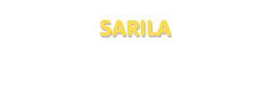 Der Vorname Sarila