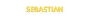 Der Vorname Sebastian