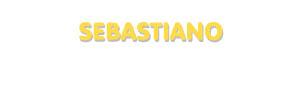 Der Vorname Sebastiano