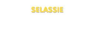 Der Vorname Selassie