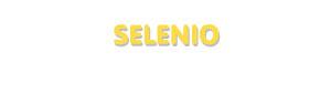 Der Vorname Selenio