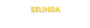 Der Vorname Selinda