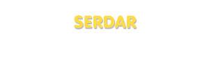 Der Vorname Serdar