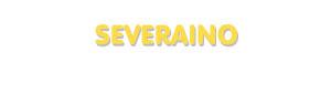 Der Vorname Severaino