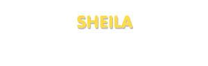 Der Vorname Sheila