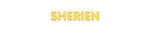 Der Vorname Sherien