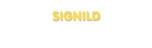 Der Vorname Signild