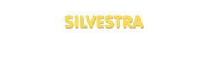 Der Vorname Silvestra