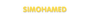 Der Vorname Simohamed