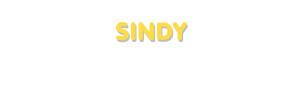 Der Vorname Sindy